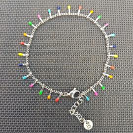 Armband SPIKE (RVS) zilver