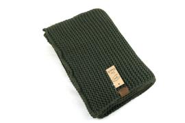 Sjaal Aspen  groen exstra lang.
