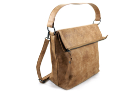 Schoudertas camel / shopper Cork
