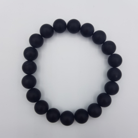 Armband Black Agate matt