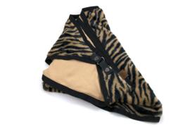 Sjaal Camel zebra Gerlos met gesp