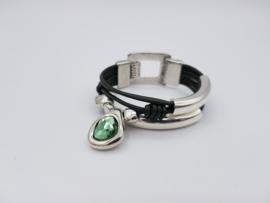 Dames Armband Olive Green
