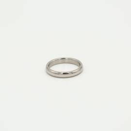 Ring basic zilver