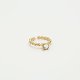 Ring Crystal/gold