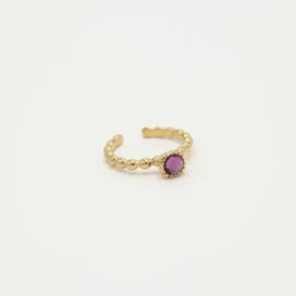 Ring Violet/gold