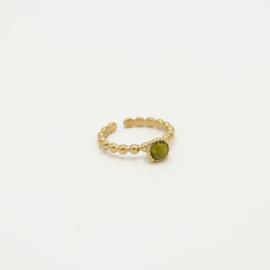 Ring Peridot/gold