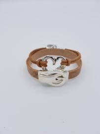 Dames Armband H❤RT ONDER DE RIEM SET