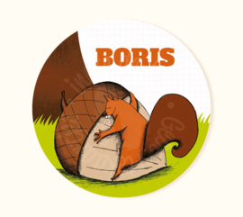 Sticker Boris