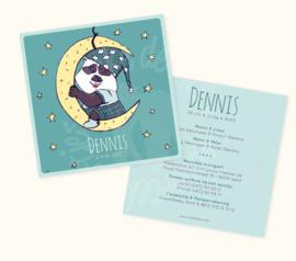 Geboortekaartje: Dennis