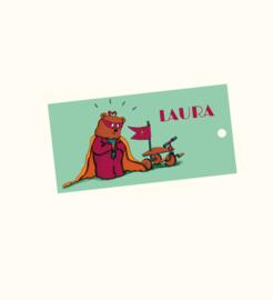 Doopsuikerlabel Laura