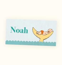 Rechte sticker Noah