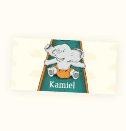 Rechte sticker Kamiel