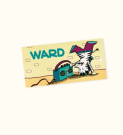 Doopsuikerlabel Ward