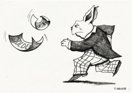 Run, mr. Rabbit!