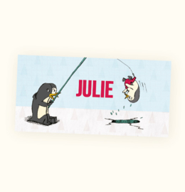 Rechte sticker Julie