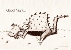 Slapende draakjes: tekening
