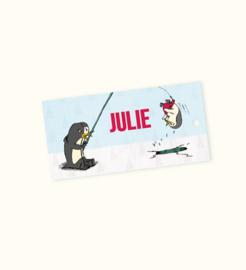 Doopsuikerlabel Julie