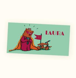 Rechte sticker Laura