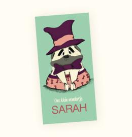 Rechte sticker Sarah