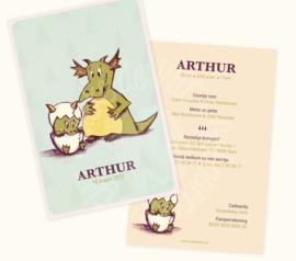 Geboortekaartje: Arthur
