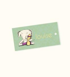 Doopsuikerlabel Louise