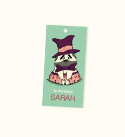 Doopsuikerlabel Sarah