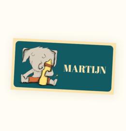 Rechte sticker Martijn