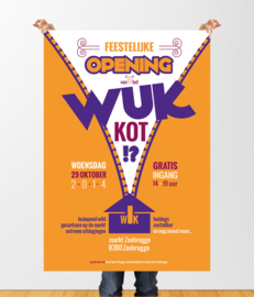 Affiche: WUK-opening