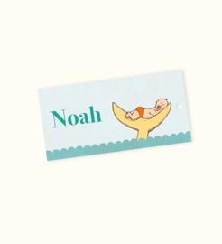 Doopsuikerlabel Noah