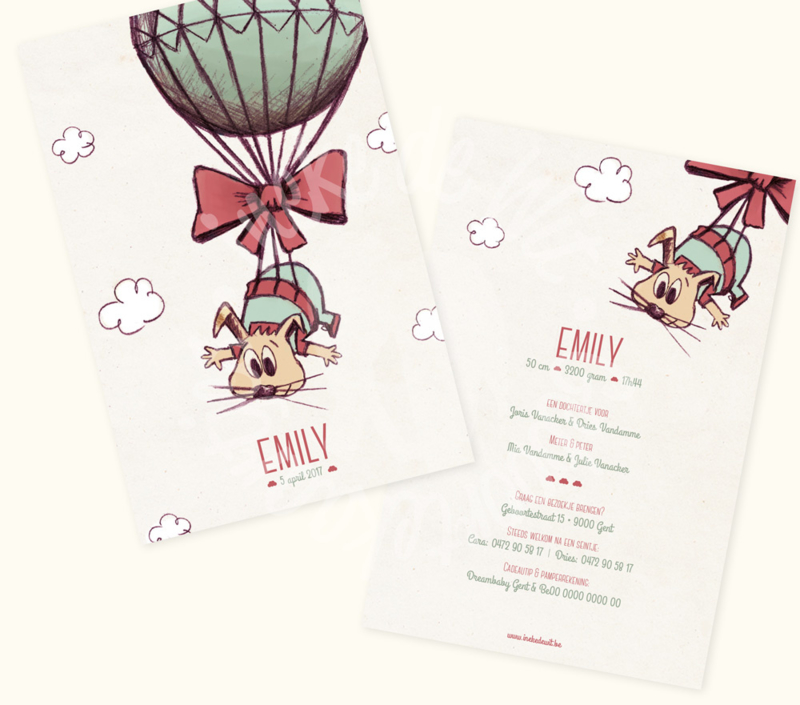 Geboortekaartje: Emily