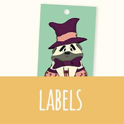 Doopsuiker: labeltjes I Ineke de Wit