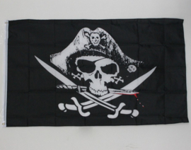 Jolly Roger Piraten Vlag
