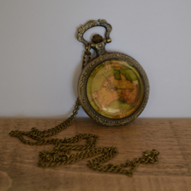 Pocket Watch Map