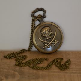 Pocket Watch Skull