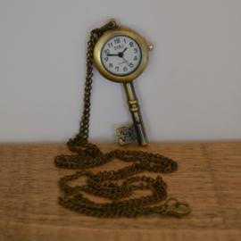 Sleutel Horloge Ketting