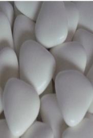 Chocolade Hartjes XL Wit