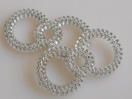 DIY - 10 Stuks Gespen met twee ringen