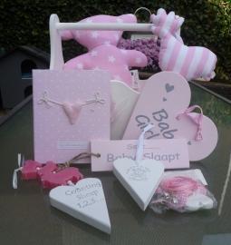 Kraammand BABY  Roze groot