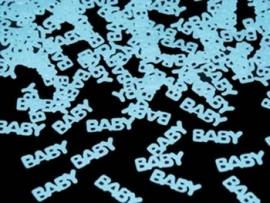 Babyshower Confetti BABY Blauw