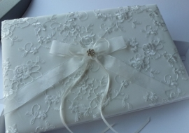 Receptiealbum Ivory Lace Roses
