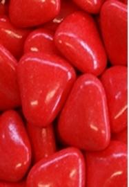 Chocolade Hartjes XL Rood