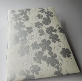 Receptiealbum Silver Flowers -- EXTRA KORTING!!