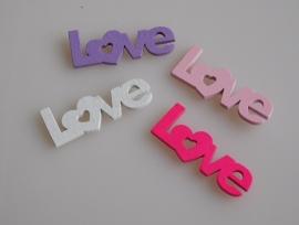 12 Stuks LOVE Letters diverse kleuren