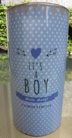 Geschenkblik It's a Boy