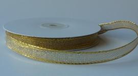 DIY - Lint met draad Goud 10mm.