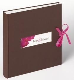 Trouwfotoalbum Orchidee -- EXTRA KORTING!!