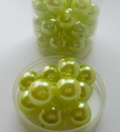 DIY - 50 Stuks Parels klein Limegroen