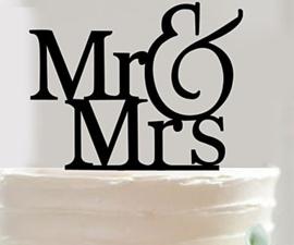 Taarttopper Mr&Mrs