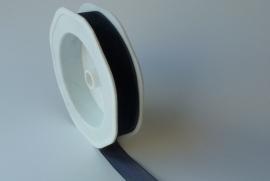 DIY - Organza lint Donkerblauw 15mm.