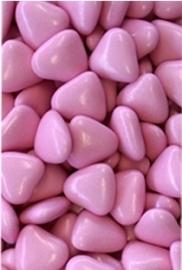 Chocolade Hartjes Rose